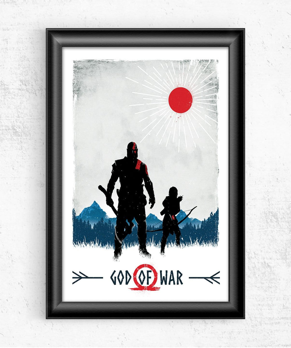God Of War Posters by Geeky Ninja - Pixel Empire