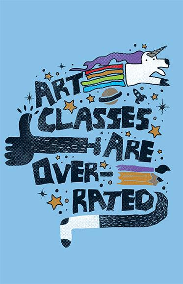 Art Class Schmart Posters By Perry Beane