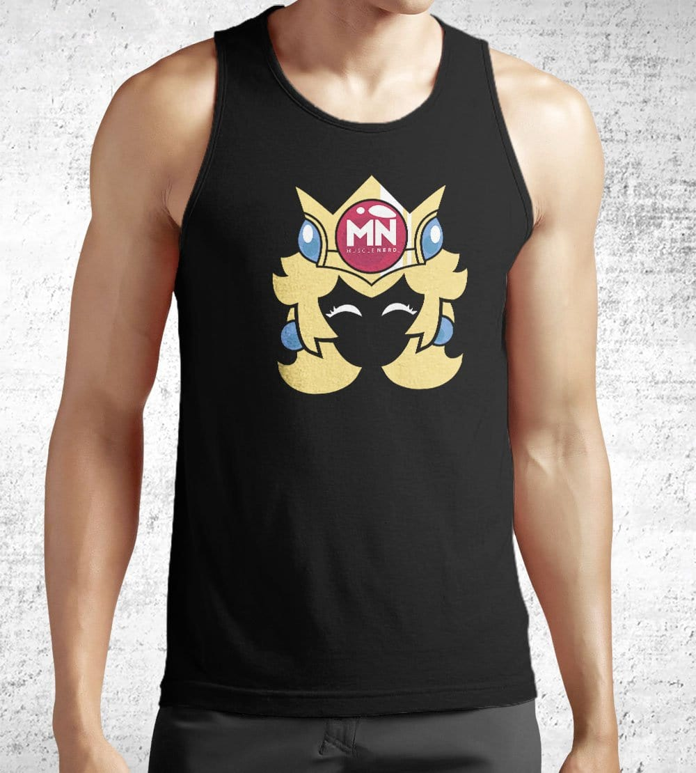 Princess Muscle Nerd Tank Tops by Muscle Nerd - Pixel Empire