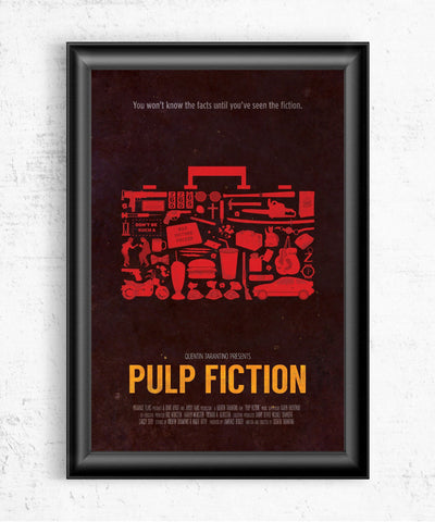 Pulp Fiction Posters- The Pixel Empire