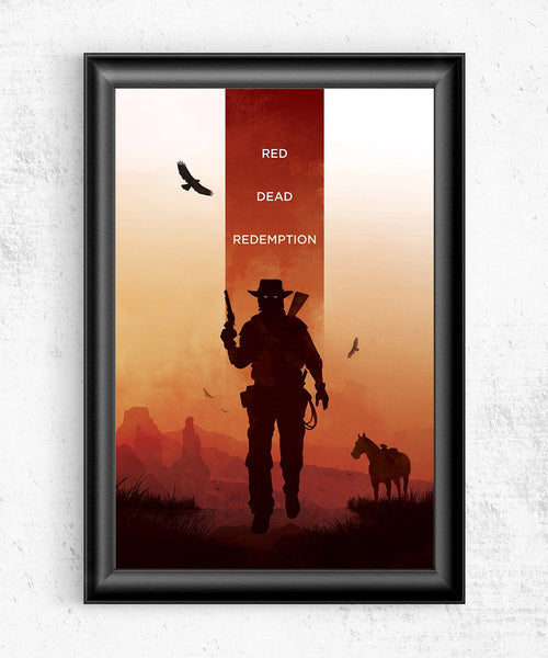 Red Dead Redemption Posters by The Pixel Empire - Pixel Empire