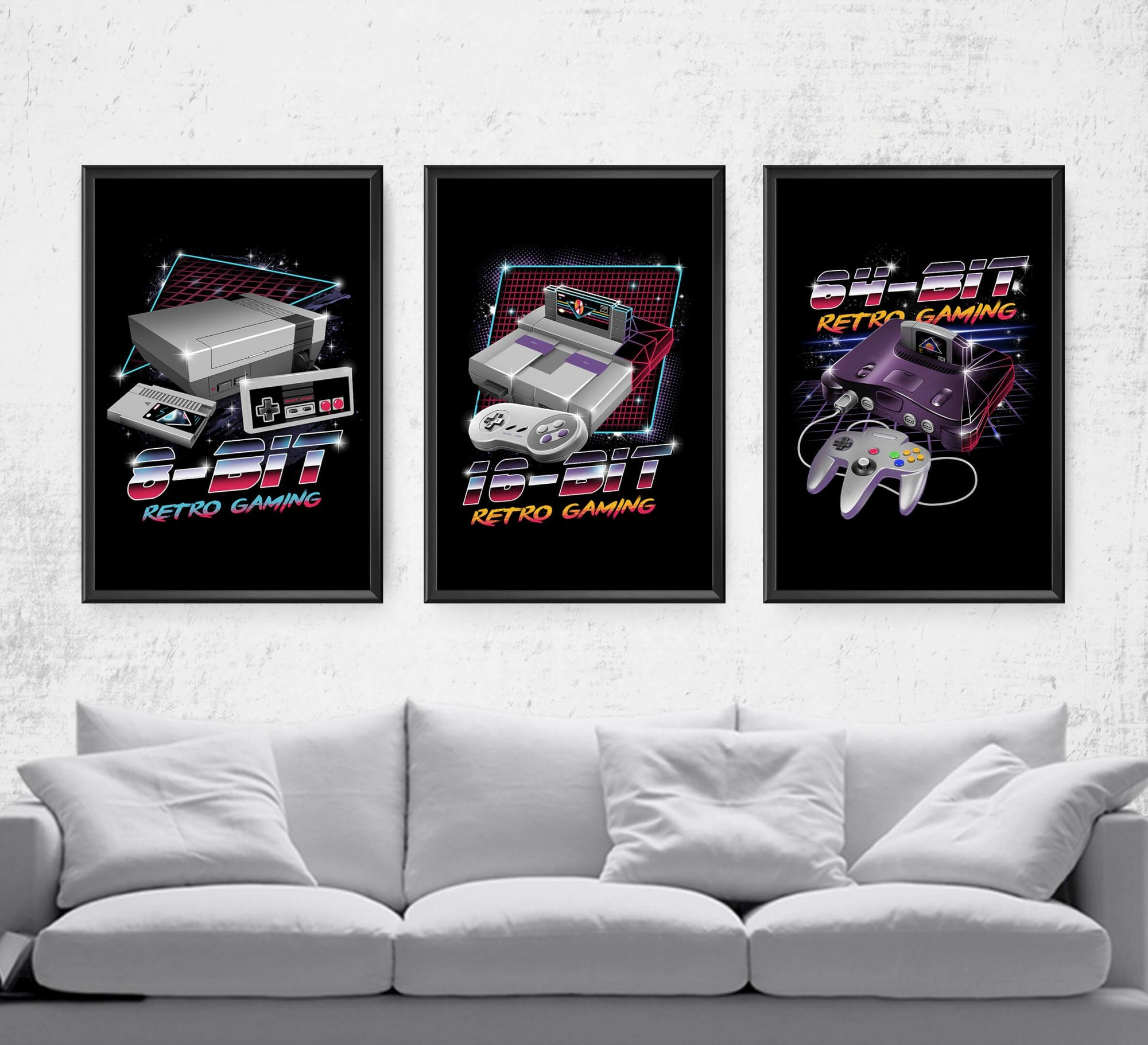 Retro Gaming Series Posters by Vincent Trinidad - Pixel Empire