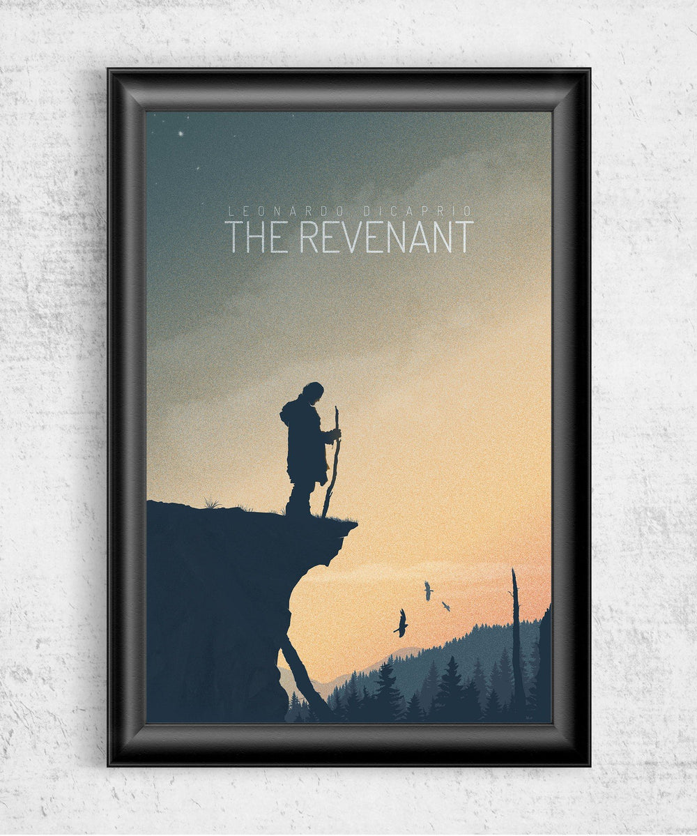 The Revenant Posters by Felix Tindall - Pixel Empire