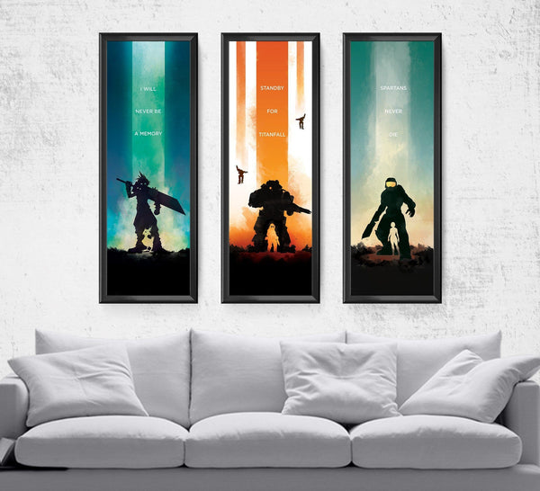 Limited Video Game Series Pick 3 Posters by The Pixel Empire - Pixel Empire