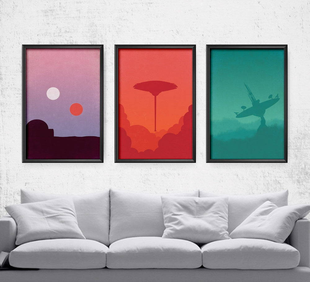 Star Wars Minimalist Series Posters by Dylan West - Pixel Empire