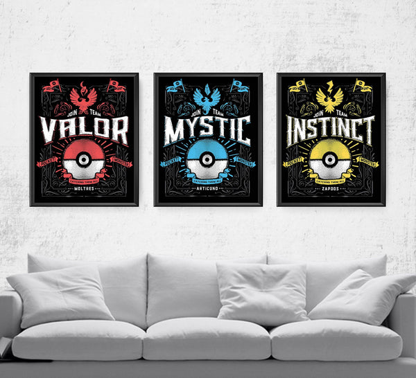 Team Series Posters by Barrett Biggers - Pixel Empire