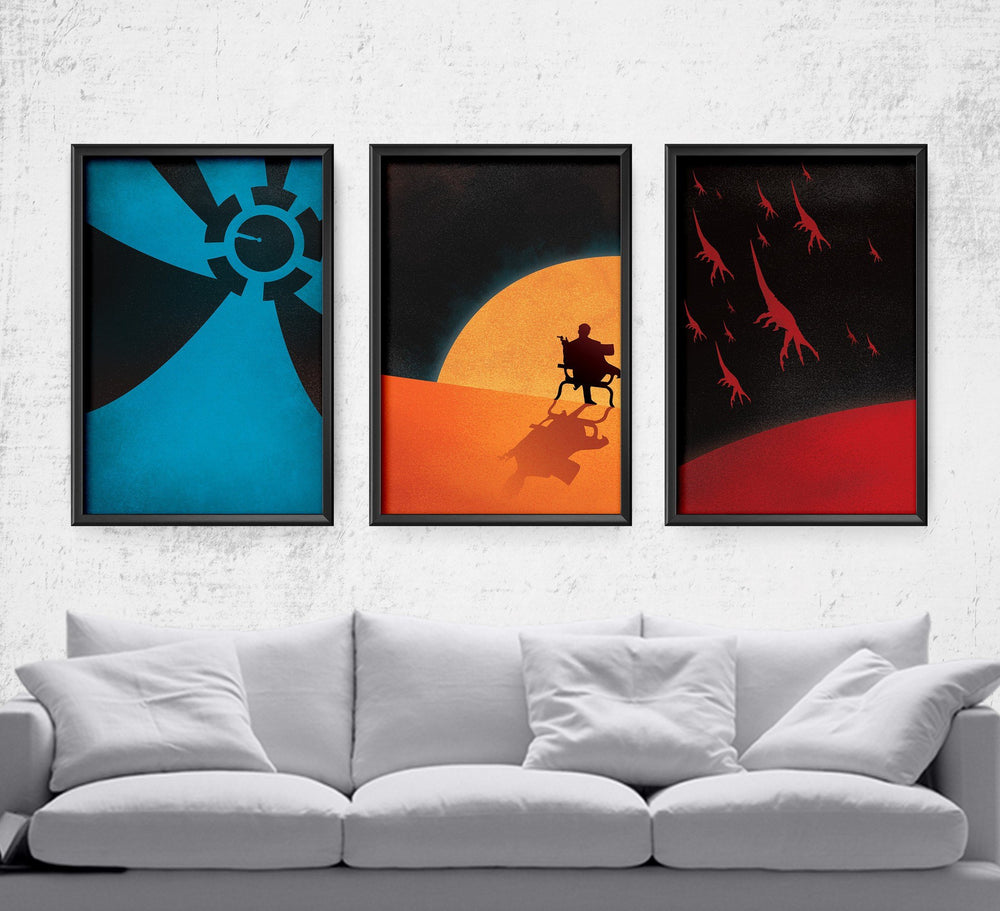 Mass Effect Series Posters by Dylan West - Pixel Empire