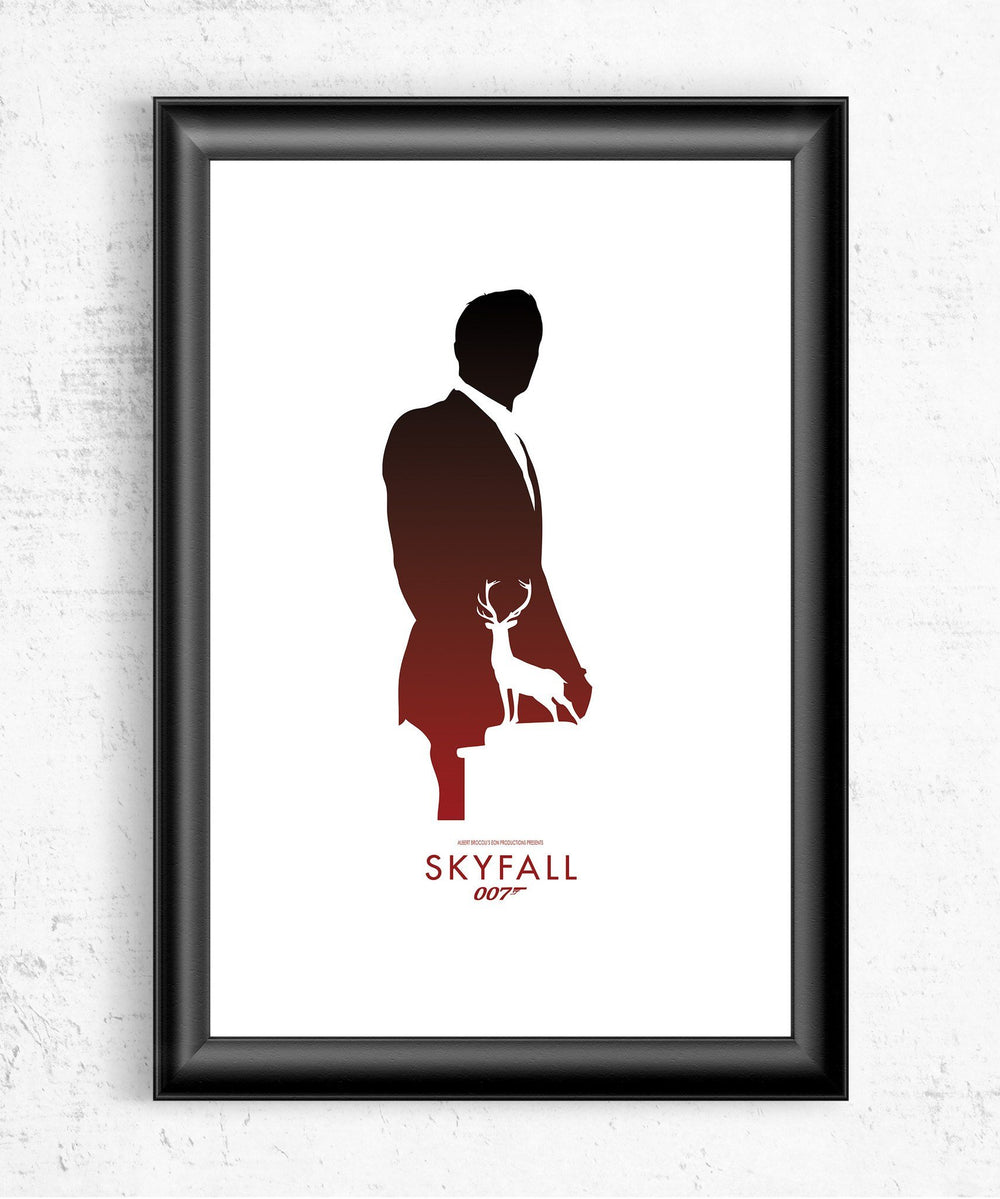 Skyfall Posters by Dylan West - Pixel Empire
