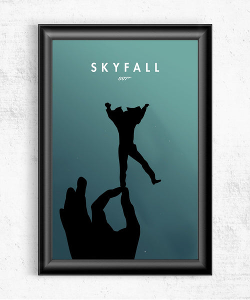 Skyfall Depths Posters by The Pixel Empire - Pixel Empire