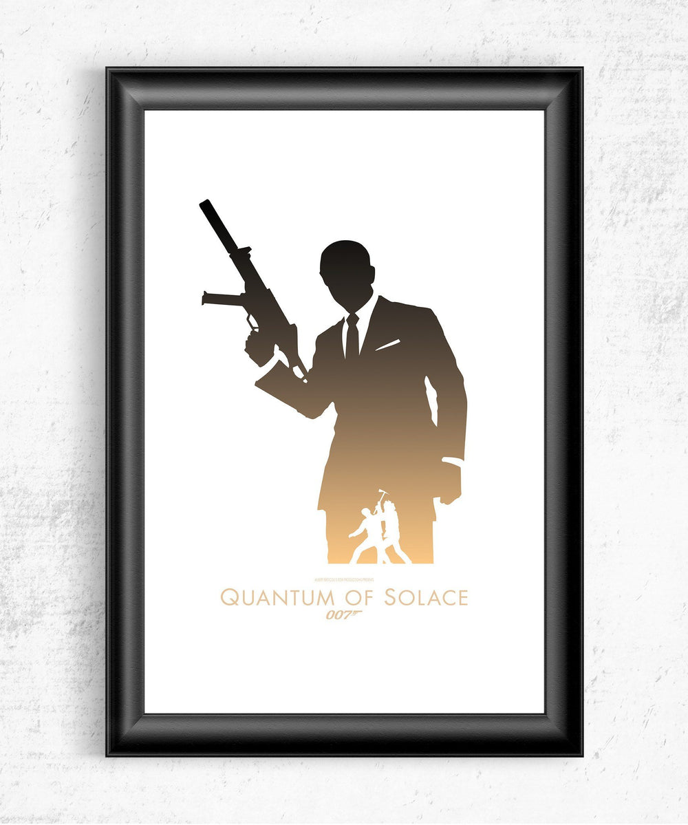 Quantum of Solace Posters by Dylan West - Pixel Empire