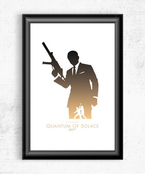 Quantum of Solace Posters- The Pixel Empire