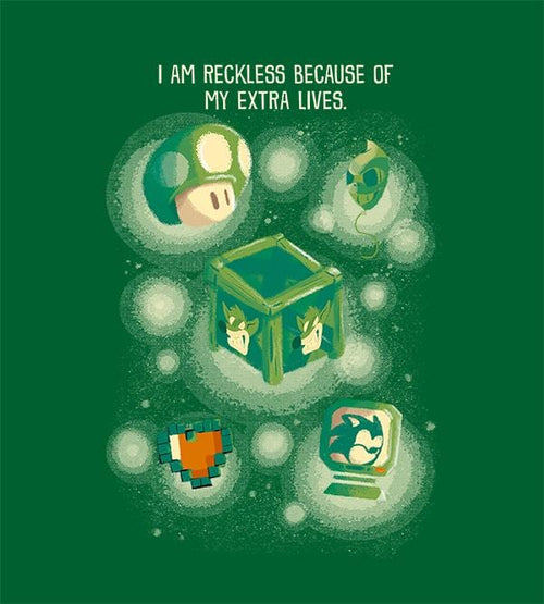 I Am Reckless T-Shirts by Andre Fellipe - Pixel Empire