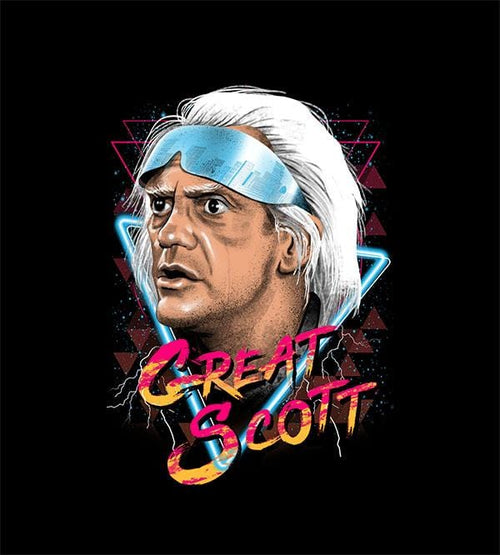 Great Scott Hoodies by Vincent Trinidad - Pixel Empire