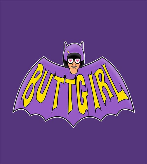 Buttgirl T-Shirts by Legendary Phoenix - Pixel Empire
