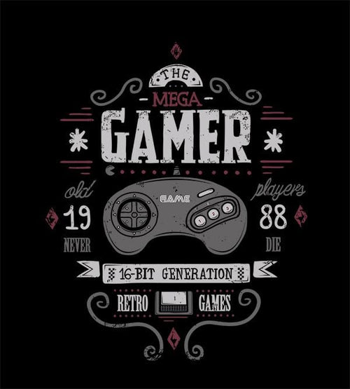 Mega Gamer T-Shirts by Typhoonic - Pixel Empire