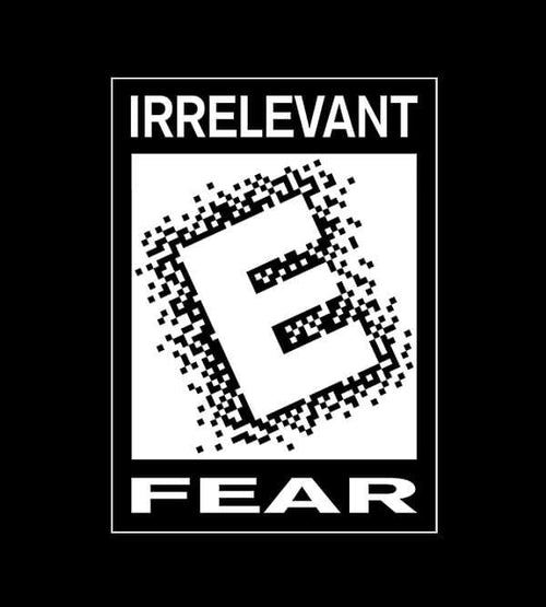 Rated E For Irrelevant T-Shirts by Scott The Woz - Pixel Empire