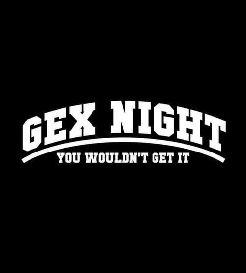 Gex Night T-Shirts by Scott The Woz - Pixel Empire