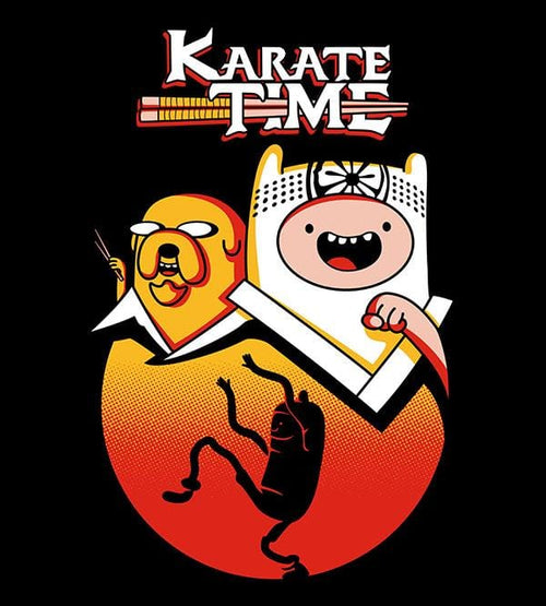 Karate Time T-Shirts by Olipop - Pixel Empire