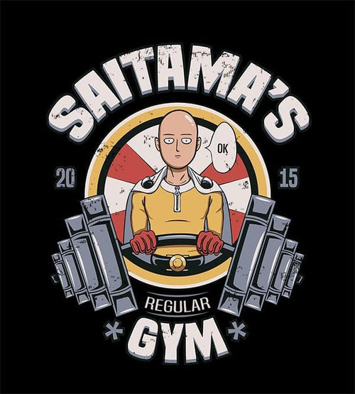 Saitama's Gym T-Shirts by Typhoonic - Pixel Empire