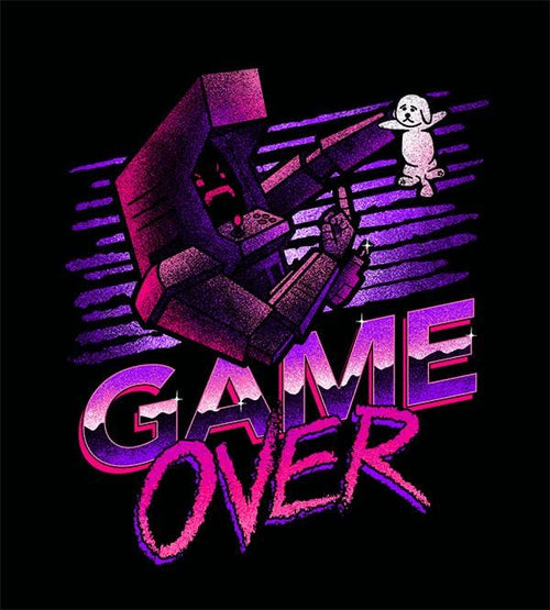 Game Over Hoodies by Cory Freeman Design - Pixel Empire