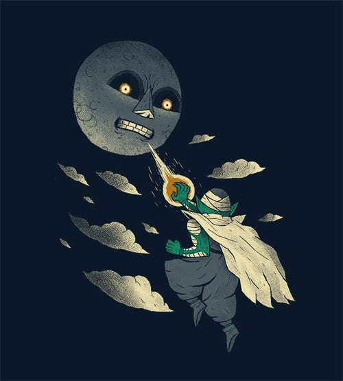 How To Defeat The Moon T-Shirts by Louis Roskosch - Pixel Empire