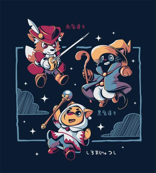 Three Little Mages T-Shirts by Ilustrata - Pixel Empire