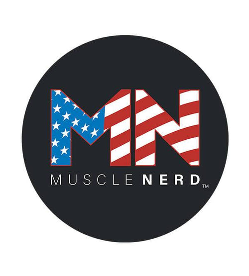 American Flag Muscle Nerd Hoodies by Muscle Nerd - Pixel Empire
