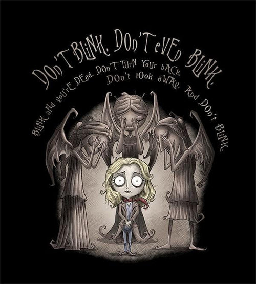 Don't Blink T-Shirts by Saqman - Pixel Empire