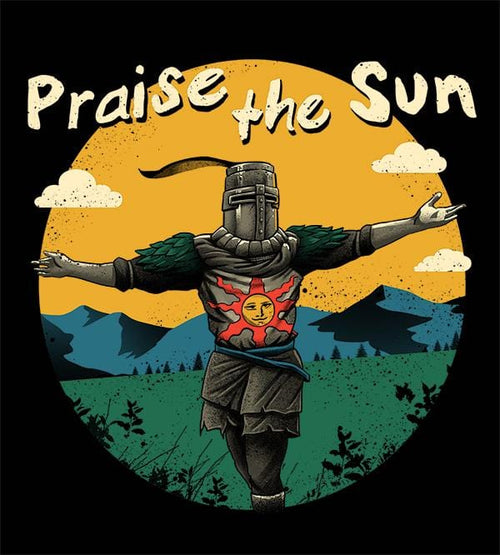 Praise The Sun Hoodies by Vincent Trinidad - Pixel Empire