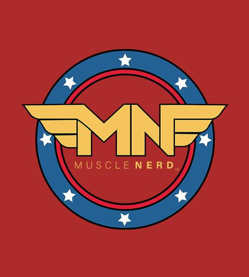 Amazonian Muscle Nerd Hoodies by Muscle Nerd - Pixel Empire