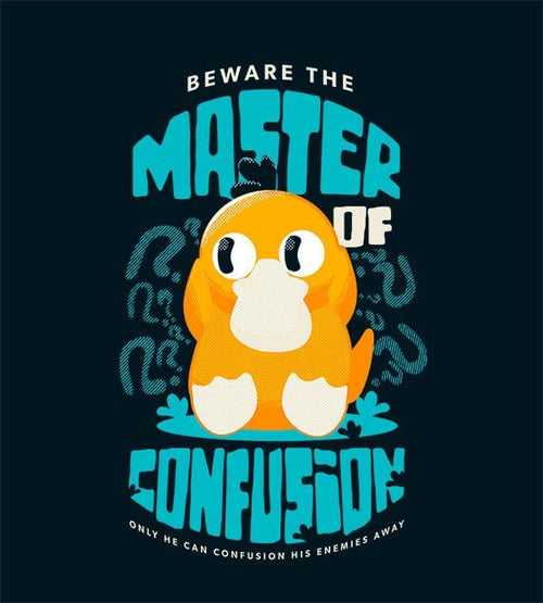 Master Of Confusion T-Shirts by Andre Fellipe - Pixel Empire