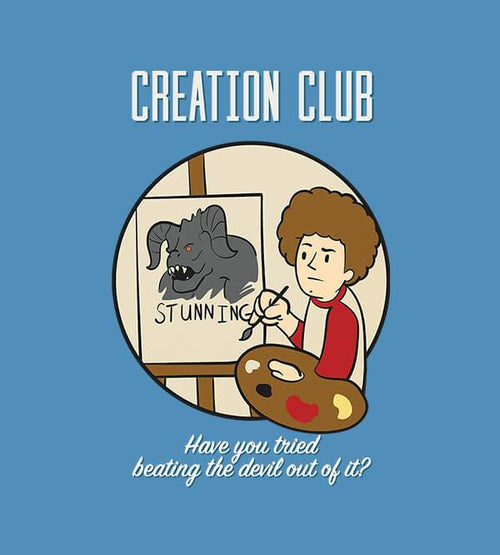 Creation Club T-Shirts by UpIsNotJump - Pixel Empire