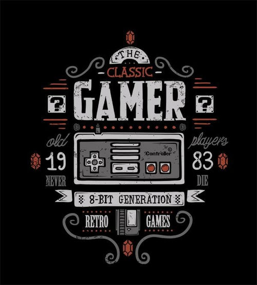 Classic Gamer Hoodies by Typhoonic - Pixel Empire