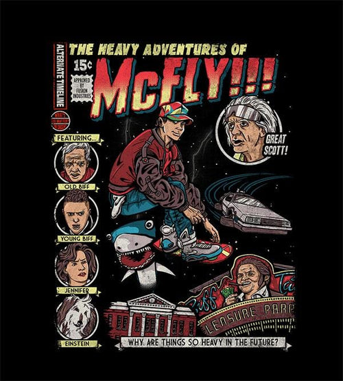 Heavy Adventures T-Shirts by COD Designs - Pixel Empire