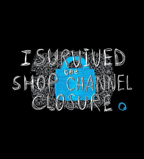 I Survived The Shop Channel Closure T-Shirts by Scott The Woz - Pixel Empire