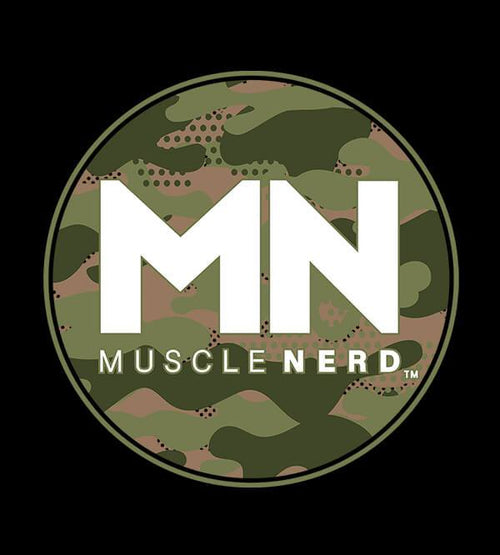 Camo Muscle Nerd Hoodies by Muscle Nerd - Pixel Empire