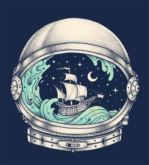 Spaceship T-Shirts by Enkel Dika - Pixel Empire