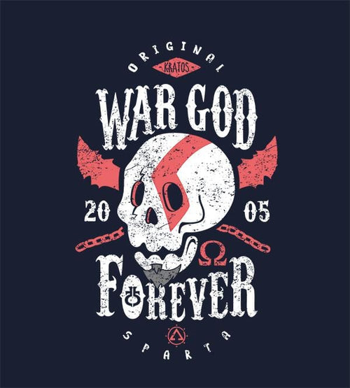 War God Forever T-Shirts by Olipop - Pixel Empire