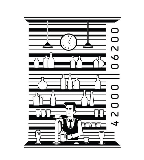 Bar Code T-Shirts by Grant Shepley - Pixel Empire