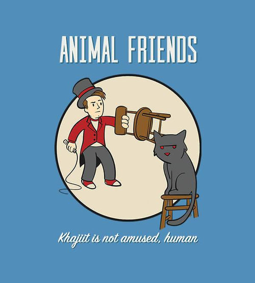 Animal Friends T-Shirts by UpIsNotJump - Pixel Empire