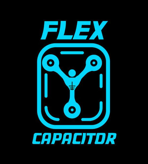 Flex Capacitor Hoodies by Edge Fitness - Pixel Empire