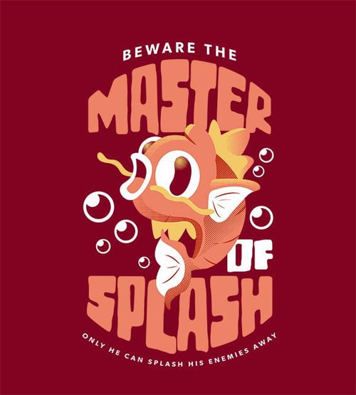 Master Of Splash T-Shirts by Andre Fellipe - Pixel Empire