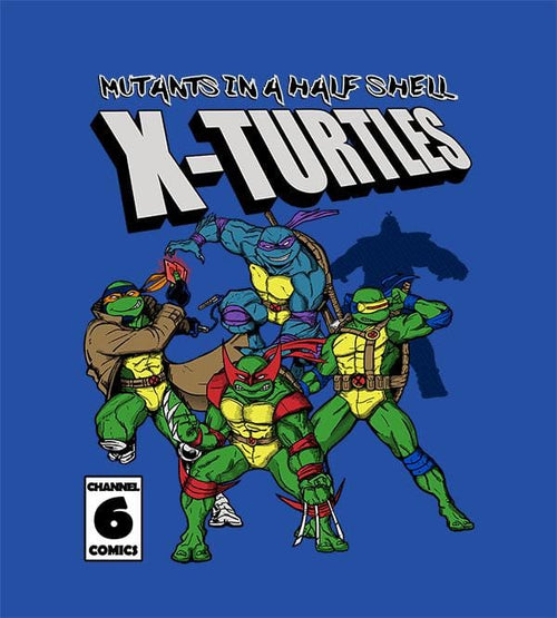 X Turtles Hoodies by Legendary Phoenix - Pixel Empire