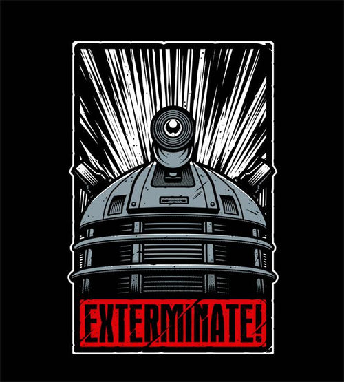 Exterminate! T-Shirts by Studiom6 - Pixel Empire