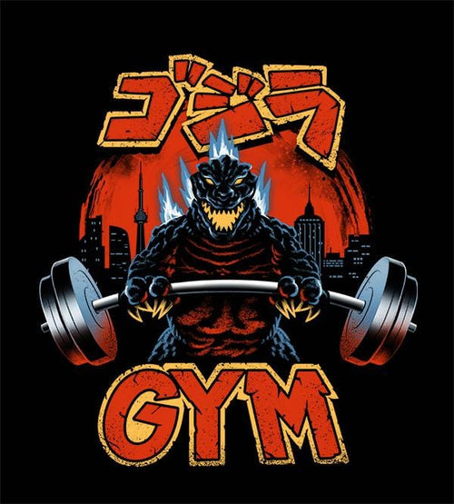 Zilla Gym T-Shirts by Vincent Trinidad - Pixel Empire