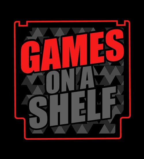 Games On A Shelf 2020 T-Shirts by Scott The Woz - Pixel Empire