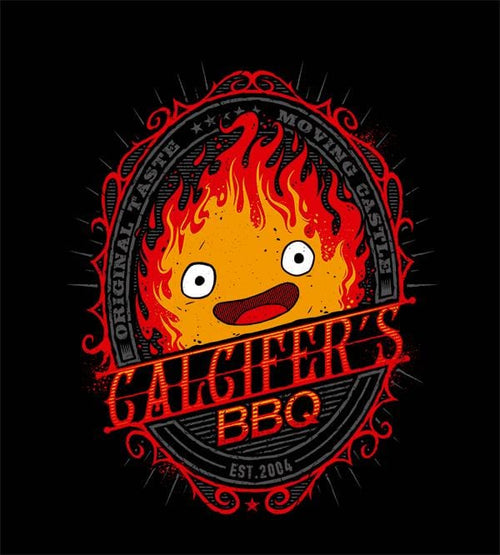 Calcifer's Bbq T-Shirts by StudioM6 - Pixel Empire