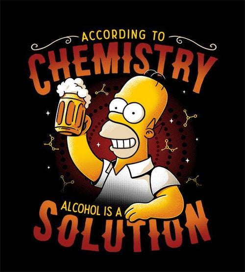 Beer Solution Homer T-Shirts by Eduardo Ely - Pixel Empire