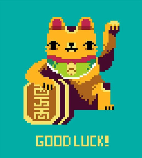Good Luck Hoodies by Louis Roskosch - Pixel Empire