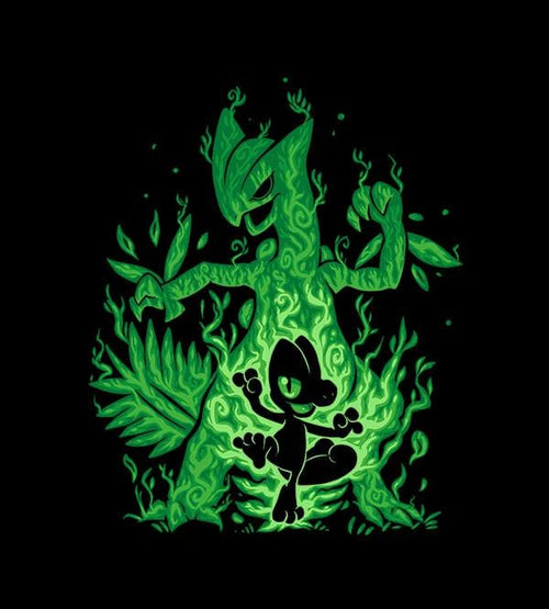 The Grass Lizard Within T-Shirts by Techranova - Pixel Empire